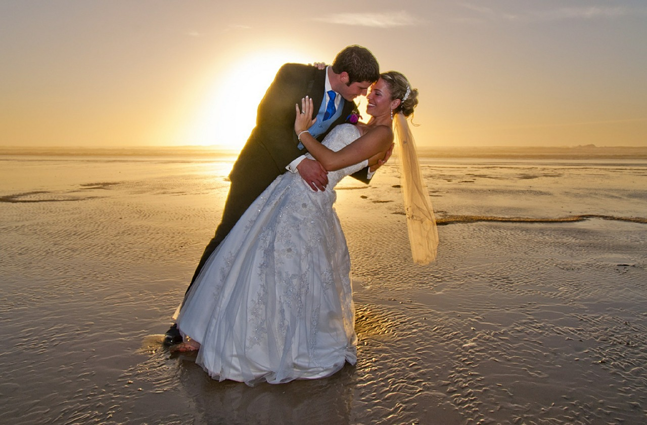 Beach Wedding Image