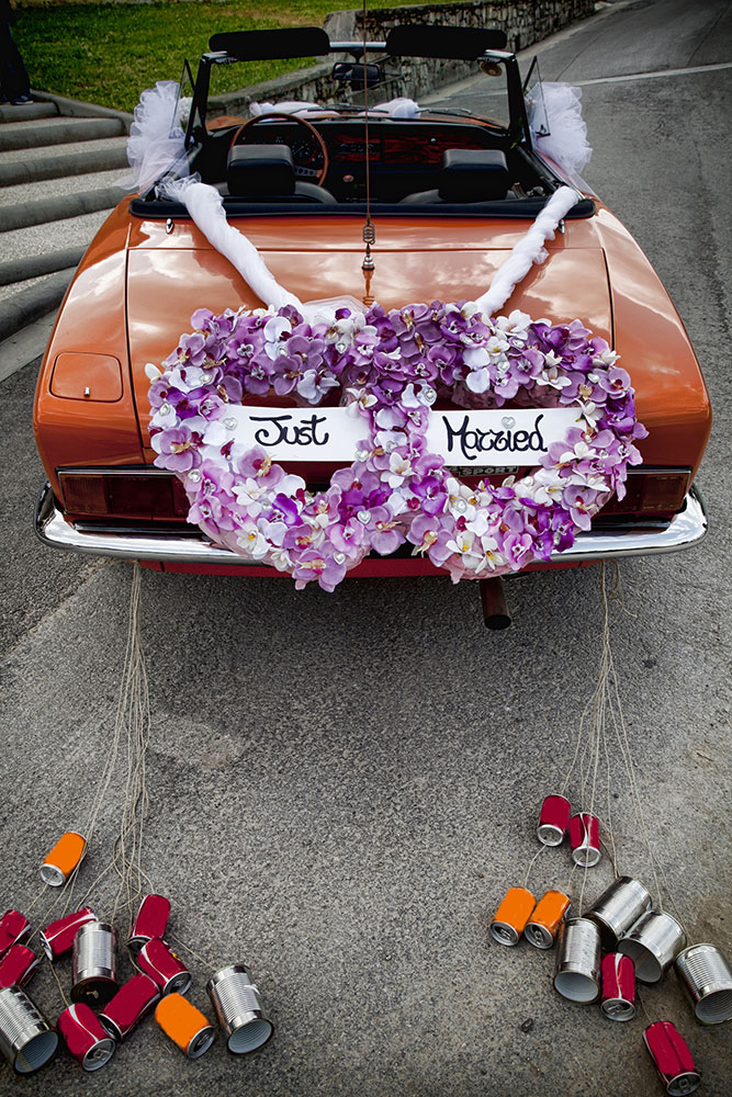Why do wedding cars have cans, anyway?