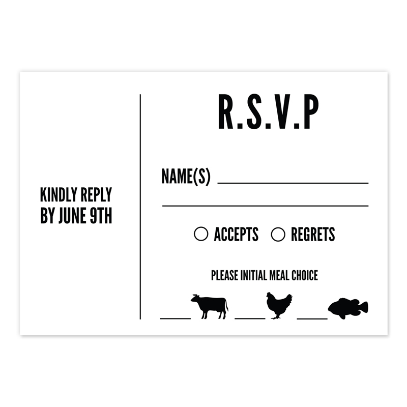 We wonder, why choose an online RSVP?