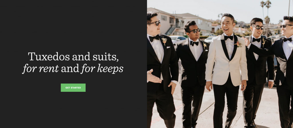 The Black Tux Groomsmen Suit Ideas