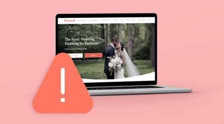 The Knot Wedding Website Beware