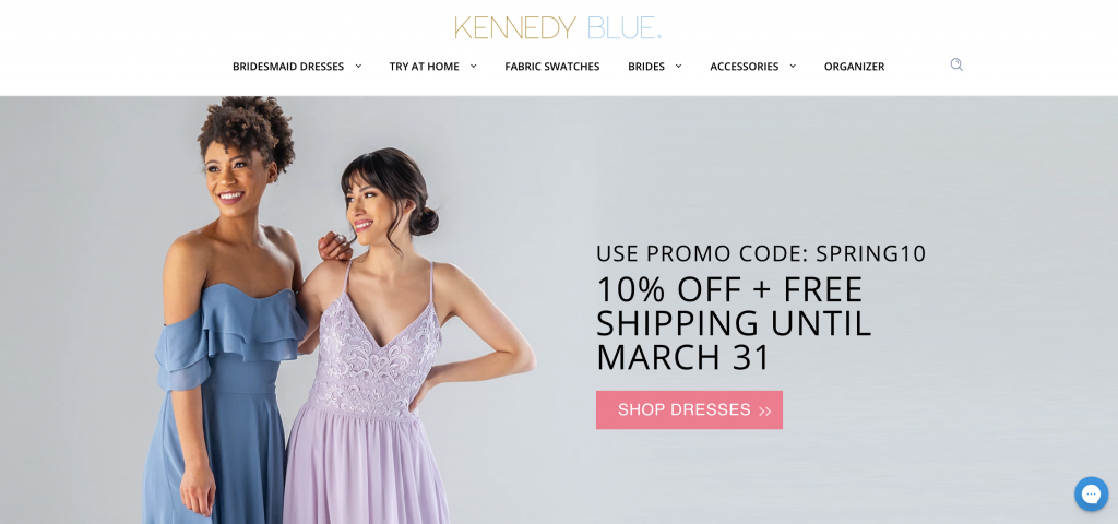 Kennedy Blue Bridesmaid Dress Try At Home Program
