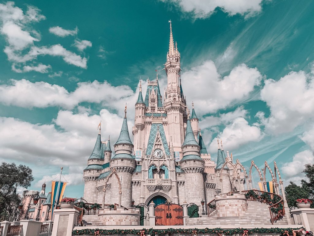 Disney world's Cinderalla Castle