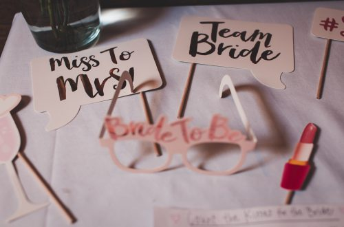Miss to Mrs and Bride To Be Photo Booth Accessories