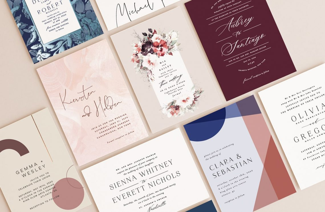 4 Free Wedding Invitation Samples By Mail - WEDDING EXPERIENCE