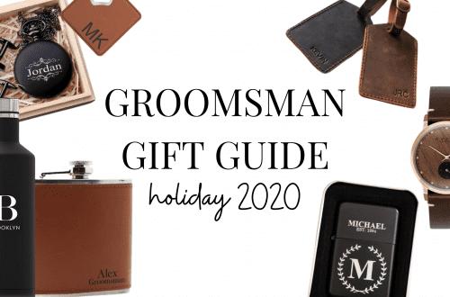 Groomsman Gift Guide 2020 Holiday Season